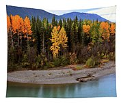 Panoramic Northern River Tapestry