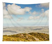 Panoramic Views From Mount Zeehan To Trial Harbour Tapestry