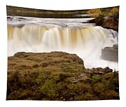 Panoramic Waterfall Manitoba Tapestry