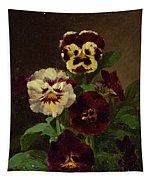 Pansies Tapestry
