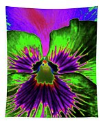 Pansy 06 - Photopower - Thoughts Of You Tapestry