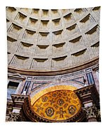 Pantheon Abstract Tapestry