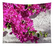 Papery Pink Riot Tapestry