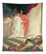 Parable Of The Wise And Foolish Virgins Tapestry
