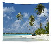 Paradise - Maupiti Lagoon Tapestry
