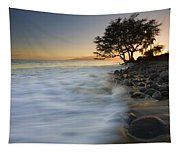 Paradise Gold Tapestry