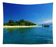 Paradise Island Haiti Tapestry