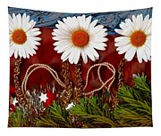 Paradise  Peace Tapestry