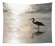 Paradise Silhouette  Tapestry