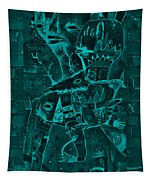 Paramount Turquoise Tapestry