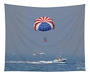 Parasailing In Florida Tapestry
