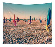 Parasols Of Deauville Tapestry