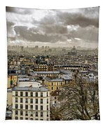 Paris As Seen From The Sacre-coeur Tapestry