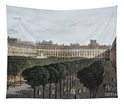 Paris: Palais Royal, 1821 Tapestry