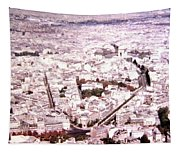 Paris Panorama 1955  Tapestry