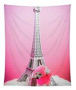 Paris Poodle Tapestry
