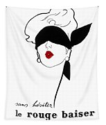 Paris Vintage Fashion Tapestry