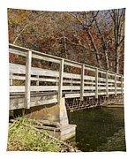 Park Bridge Autumn 3 Tapestry