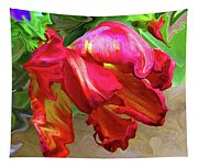 Parrot Tulip Tapestry