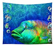 Parrotfish - Rainbow Spirit Tapestry