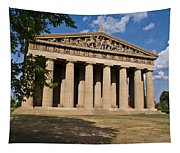 Parthenon Nashville Tennessee From The Shade Tapestry