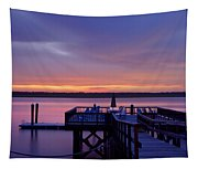 Party Dock Tapestry
