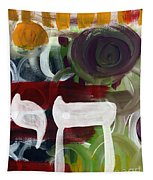 Passages 2- Abstract Art By Linda Woods Tapestry
