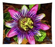 Passion Flower Tapestry
