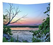 Pastel Clear Lake 3 Tapestry
