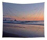 Pastel Coastline Tapestry