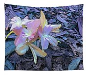 Pastel Petals Tapestry