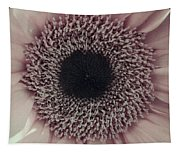 Pastel Pink Daisy Tapestry