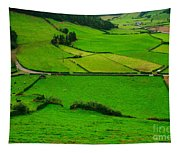 Pastures In The Azores Tapestry