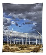 Patch Of Blue Palm Springs Tapestry