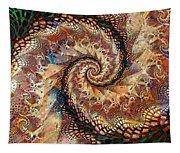 Patchwork Spiral Tapestry