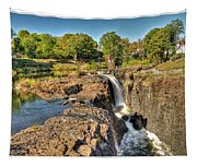 Paterson Water Falls Black And White Tapestry