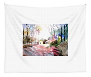 Path In Colors Tapestry
