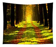 Path In The Forest 715 - Painting Tapestry