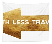 Path Less Traveled-  Art By Linda Woods Tapestry
