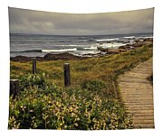 Path To The Sea Tapestry