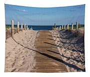 Pathway To Beach Seaside New Jersey Tapestry