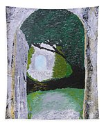 Pathway To Peacefullness Tapestry
