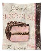 Patisserie Gateau Au Chocolat Tapestry