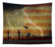 Patriotic Operation Desert Storm Tapestry
