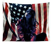 Patriotic Thoughts Tapestry