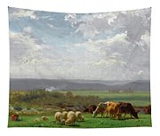 Paturage En Auvergne Tapestry