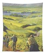 Pau Kanaka Work Tapestry