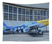Paul 1 P-51d Mustang Tapestry