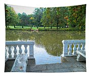 Peace By The Lake Tapestry
