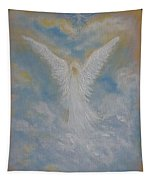 Peace From An Angel  Tapestry